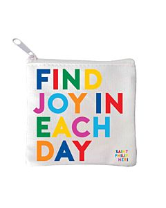 Quotable Mini Pouch - Find Joy