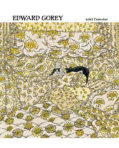2021 Artist Wall Calendar - Edward Gorey