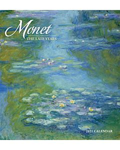 2021 Artist Wall Calendar - Monet: Late Years