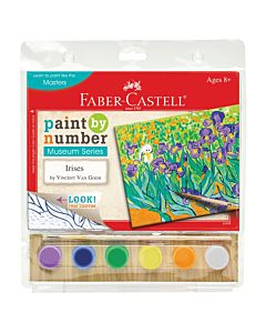Faber-Castell Museum Series Paint By Number – Irises