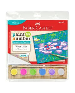 Faber-Castell Museum Series Paint By Number - Water Lillies