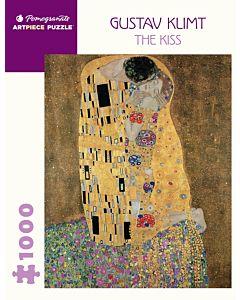 Gustav Klimt: The Kiss 1000 Piece Jigsaw Puzzle