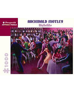 Archibald Motley: Nightlife 1000 Piece Jigsaw Puzzle