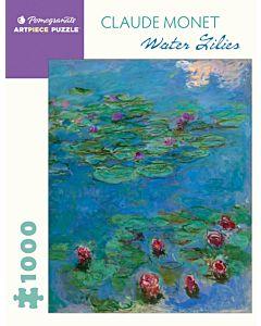 Claude Monet: Water Lilies 1000 Piece Jigsaw Puzzle