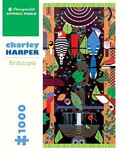 Charley Harper: Birducopia 1000 Piece Jigsaw Puzzle
