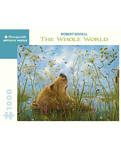 Robert Bissell: The Whole World 1000 Piece Jigsaw Puzzle