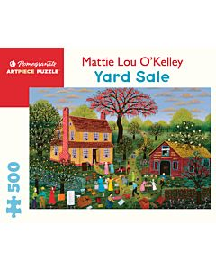 Mattie Lou O'Kelley: Yard Sale 500-piece Jigsaw Puzzle
