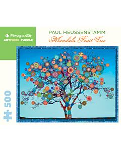 Paul Heussenstamm: Mandala Fruit Tree 500-Piece Jigsaw Puzzle