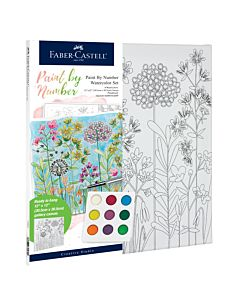 Faber-Castell Watercolor Paint By Number - Farmhouse