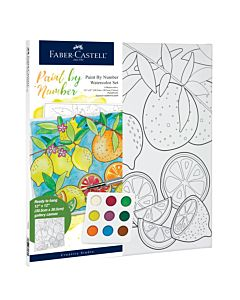Faber-Castell Watercolor Paint By Number - Produce