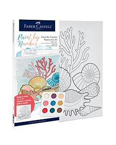 Faber-Castell Watercolor Paint By Number - Coastal