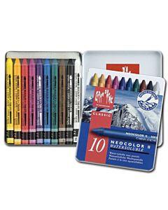 Caran d'Ache Neocolor II Crayons Set of 10 - Assorted Colors