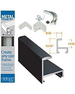 """Nielsen Framekit Matte Black Aluminum - Length: 8"""""""