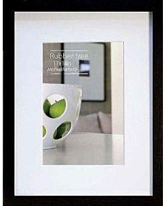 Nielsen Cosmopolitan Rubberwood Black - Frame Opening: 5x7