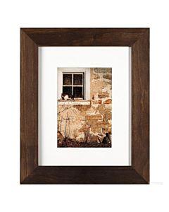 Artcare by Nielsen Arcadia Hazelnut - Frame: 8x10 Mat: 5x7 Easel Back