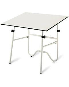 Alvin ONX42-4 Onyx Table White Base 30x42