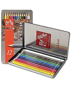 Caran d'Ache Pablo Pencil Set - 12 Pencils