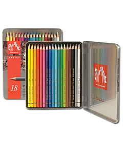 Caran d'Ache Pablo Pencil Set - 18 Pencils