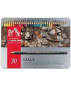 Caran d'Ache Pablo Pencil Set - 30 Pencils