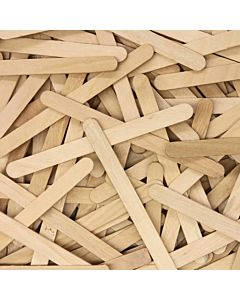 "Creativity Street Craft Wood Sticks 0.38x4.5"" 150-Count"