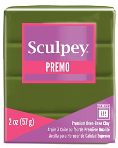 Sculpey Premo - 2oz Spanish Olive