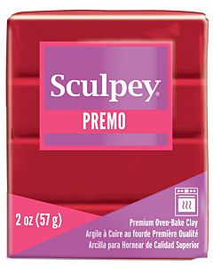 Sculpey Premo - 2oz Pomegranate