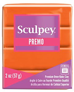 Sculpey Premo - 2oz Orange