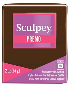 Sculpey Premo - 2oz Burnt Umber