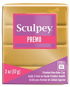 Sculpey Premo - 2oz 18K Gold