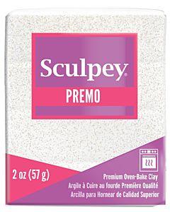 Sculpey Premo - 2oz Frost White Glitter