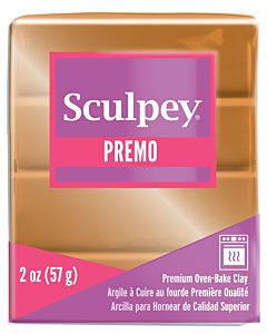 Sculpey Premo - 2oz Gold