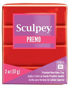 Sculpey Premo - 2oz Cadmium Red
