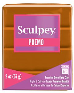 Sculpey Premo - 2oz Raw Sienna