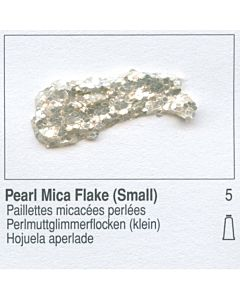Golden Heavy Body Acrylic 8oz Jar - Pearl Mica Flake