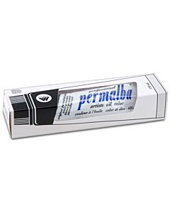 Permalba Artist Oil Paint 150ml Tube - Permalba White