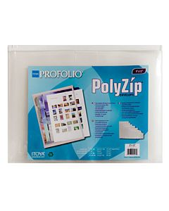 Itoya Poly-Zip Envelope 8.5x11