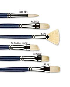 Princeton Series 5200 Ashley Interlocked Natural Chungking Bristle - Angle Bright - Size 8