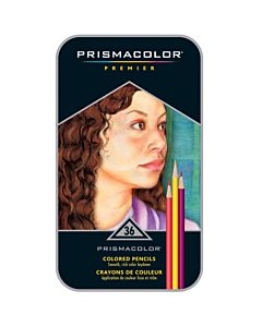 Prismacolor Premier Colored Pencils Tin Set of 36 - Assorted Colors