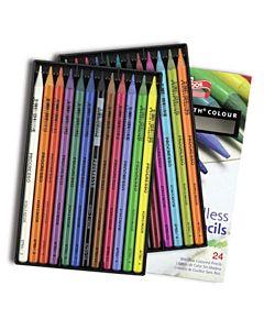 Progresso Woodless Colored Pencils 24 Color Set