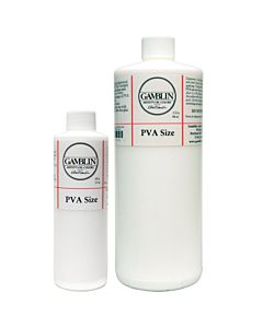Gamblin PVA Size - 8oz