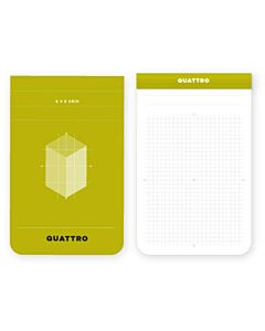 """Quattro Grid Journal 3.4x5.5"""""""