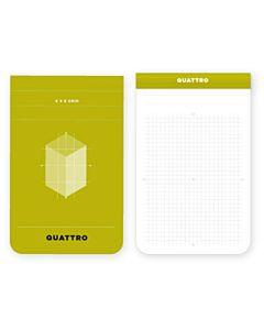 """Quattro Grid Journal 2.5x3.5"""""""