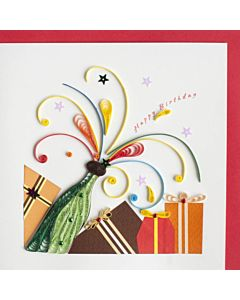 Quilling Card - Pop It Birthday