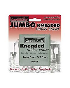 General Pencil Kneaded Rubber Eraser Jumbo