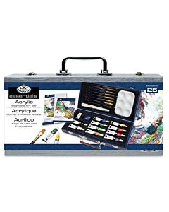 Royal & Langnickel Essentials Beginner Wood Box Set Acrylic Painting