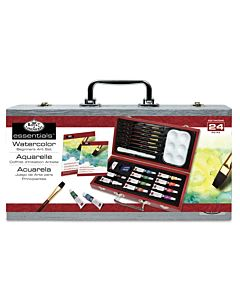 Royal & Langnickel Essentials Beginner Wood Box Set Watercolor