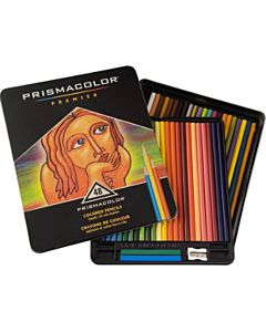 Prismacolor Premier Colored Pencils Tin Set of 48 - Assorted Colors