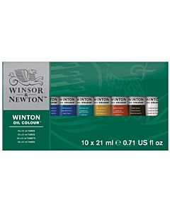Winsor & Newton Winton Oil Color Basic Set