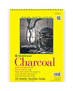 Strathmore 300 Series Charcoal Pad 9x12