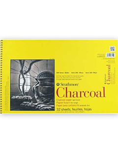 Strathmore 300 Series Charcoal Pad 11x17